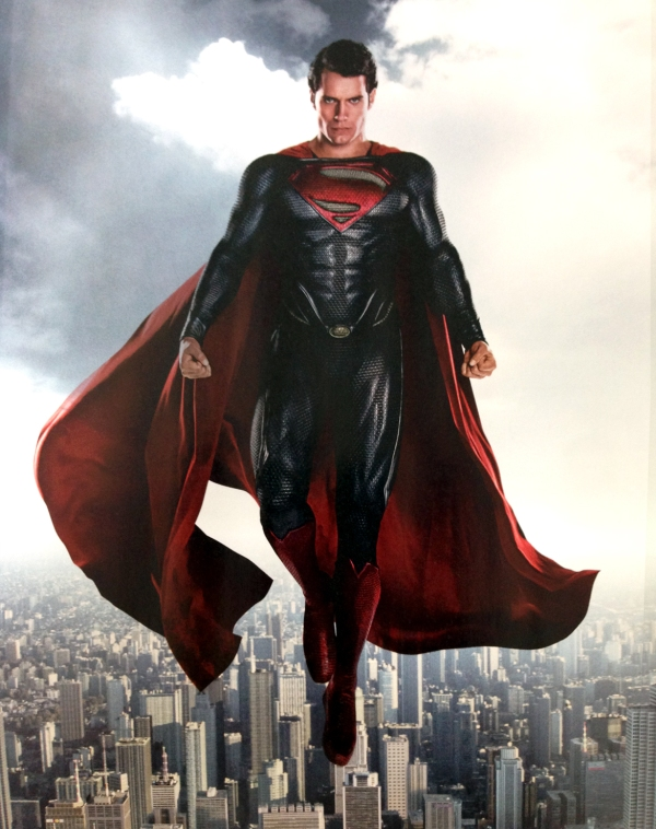 man-of-steel-floating